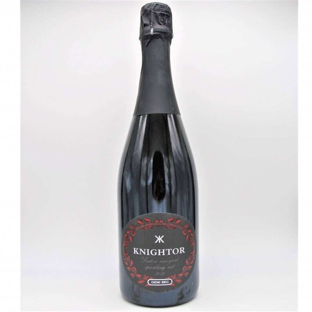 Knightor Winery Seaton Vineyard Sparkling Red 2018 English Sparkling Wine