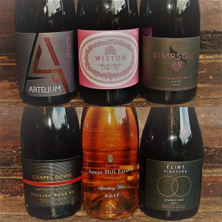 Sparkling Rosé Case English Sparkling Wines