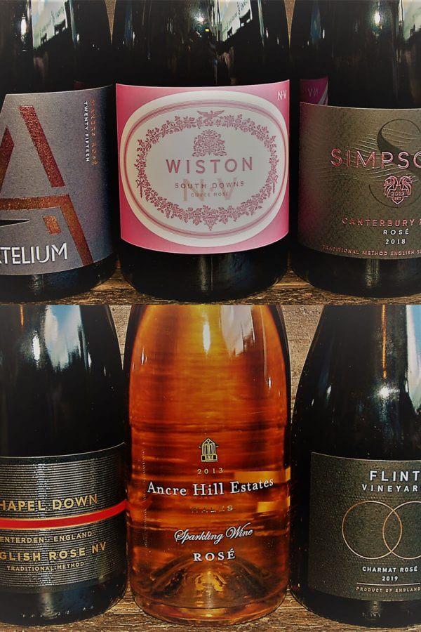 Sparkling Rosé Case English Sparkling Wines