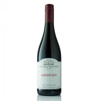 New Hall Vineyards Barons Red 2020 English Red Wine