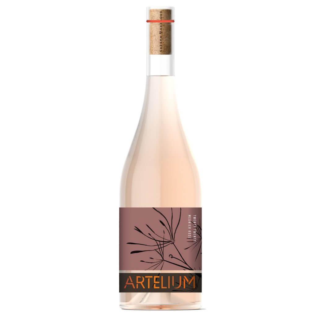 Artelium Wine Estate Meunier Rosé 2020 English Rosé Wine