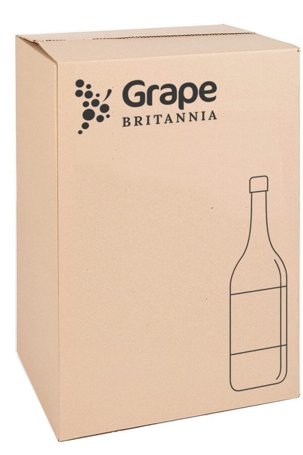 Box of English wine and English Sparkling Wine
