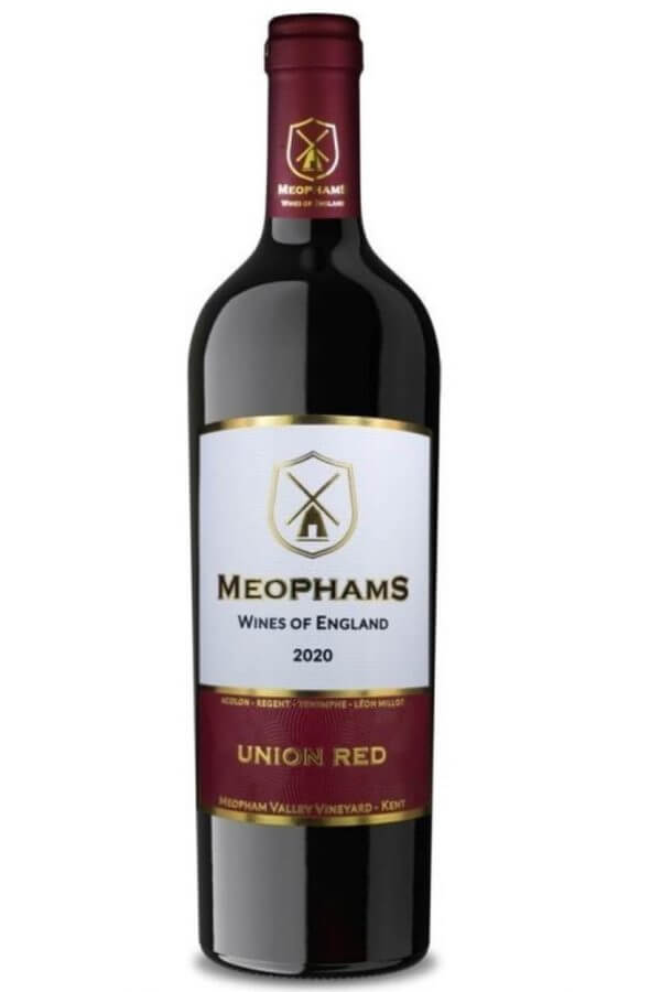 Meophams Union Red 2020 English Red Wine