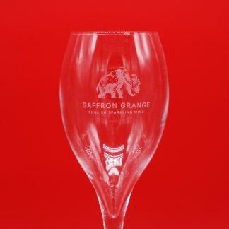 English Sparkling Wine glass